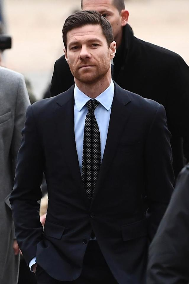 Ronaldo's former Real Madrid teammate Xabi Alonso was also in court in Madrid on tax evasion charges (AFP Photo/PIERRE-PHILIPPE MARCOU)