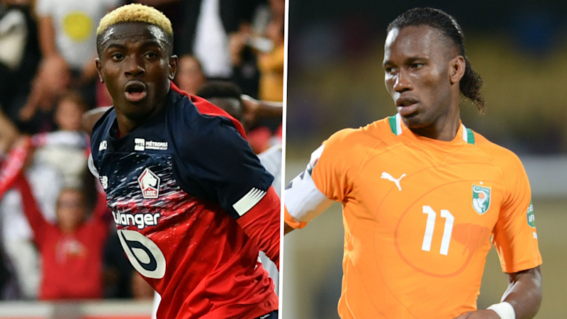 'Osimhen can be the new Drogba' - Lille's latest star can light up Ligue 1, says former team-mate
