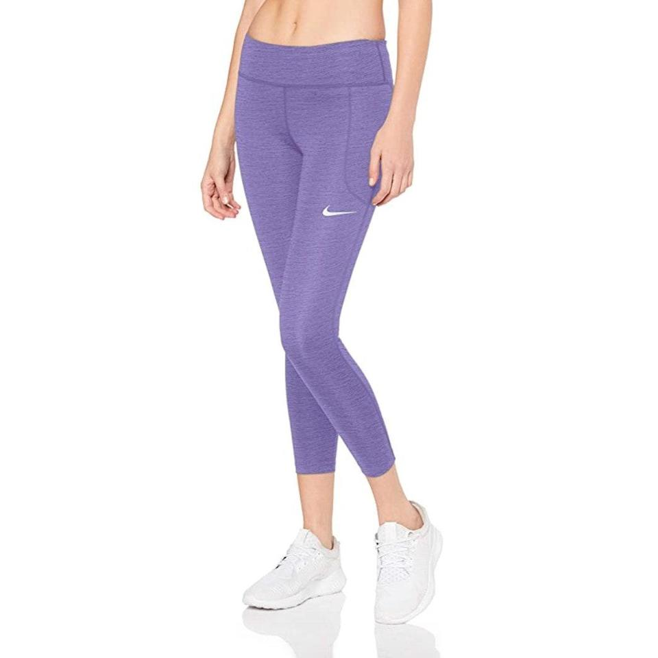"""We don't care what season it is, the lavender trend has a full-time residence in our closets for the foreseeable future. Two words: mood boost. $55, Amazon. <a href=""""https://www.amazon.com/Nike-Womens-Gunsmoke-Reflective-Silver/dp/B07KD96ZJX/ref=sr_1_51?th=1&psc=1"""" rel=""""nofollow noopener"""" target=""""_blank"""" data-ylk=""""slk:Get it now!"""" class=""""link rapid-noclick-resp"""">Get it now!</a>"""