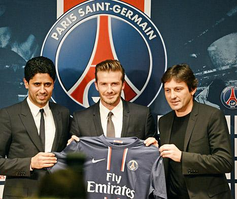 David Beckham Signs With Paris St. Germain, Will Donate Entire Salary to Charity