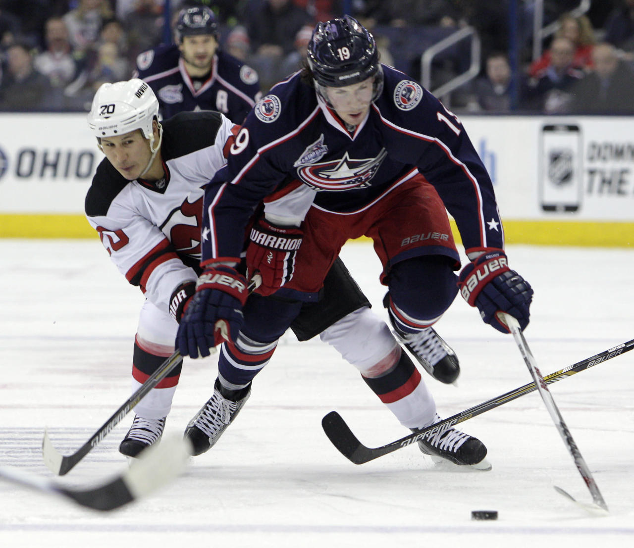 Blue Jackets have a building block duo in Saad and Johansen