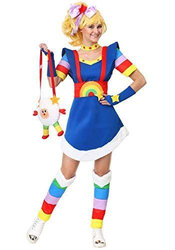 """<p><strong>Fun Costumes</strong></p><p>amazon.com</p><p><strong>$49.99</strong></p><p><a href=""""https://www.amazon.com/dp/B07HKKM1NL?tag=syn-yahoo-20&ascsubtag=%5Bartid%7C10070.g.22646261%5Bsrc%7Cyahoo-us"""" rel=""""nofollow noopener"""" target=""""_blank"""" data-ylk=""""slk:SHOP NOW"""" class=""""link rapid-noclick-resp"""">SHOP NOW</a></p><p>If you were a kid in the '80s, then you likely caught an episode or two of <em>Rainbow Brite</em>. You can throw on this costume and pretend you're going on an adventure in Rainbow Land. </p>"""