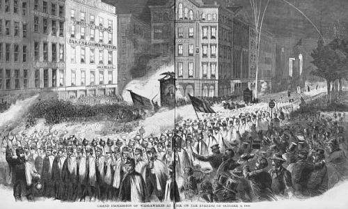 Wide Awakes: the Lincoln-era youth movement inspiring anti-Trump protests