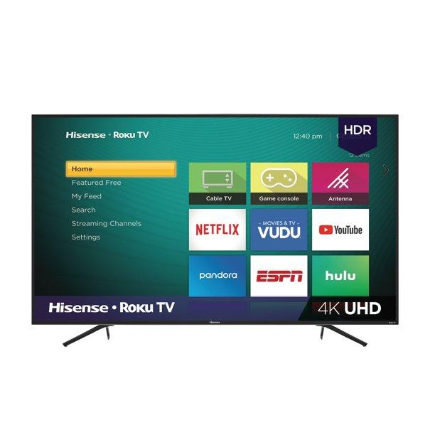This 75-inch Roku Smart TV allows you to browse Netflix. Hulu, YouTube and more. But if you prefer to stick with your Fire TV Stick or Google Chromecast, it's compatible with those devices, too.