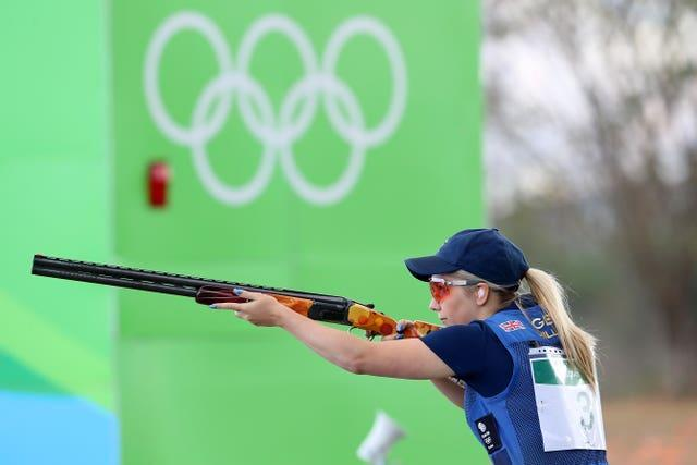 Amber Hill was a finalist in the women's skeet shooting at Rio 2016 (Owen Humphreys/PA)