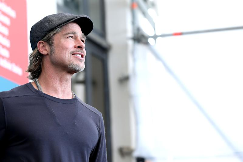 Brad Pitt in Venedig (Getty)