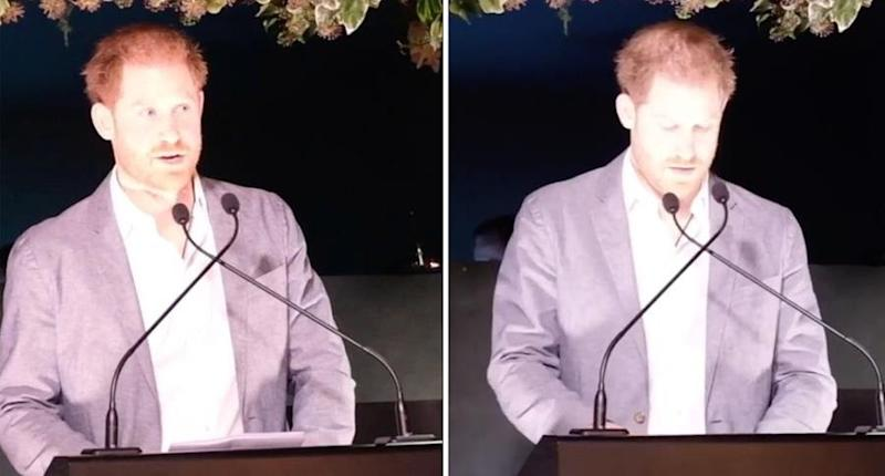 Prince Harry has spoken out about 'Megxit' in a brutally honest speech. Photo: Instagram/SussexRoyal