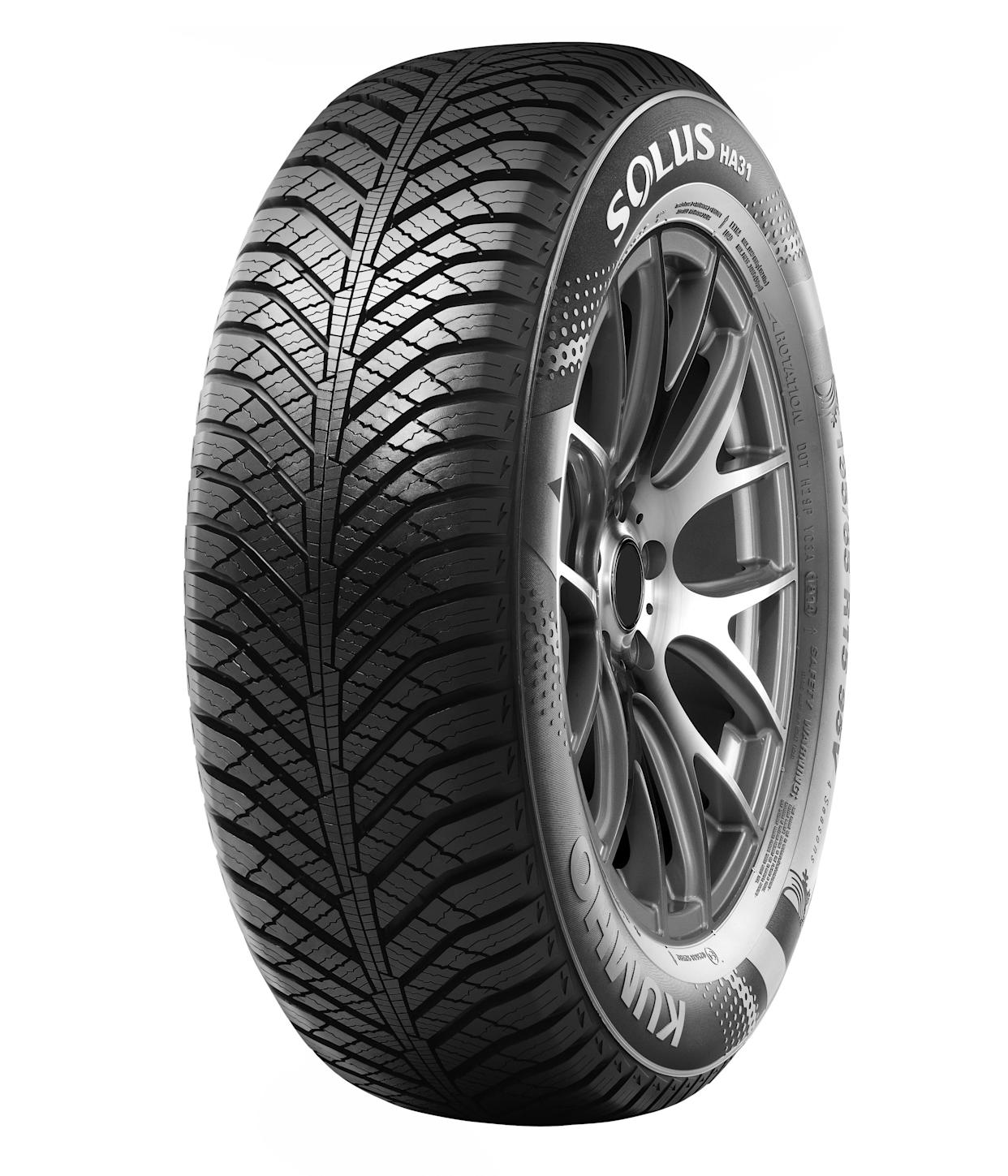 All-weather tyres feature different grooves