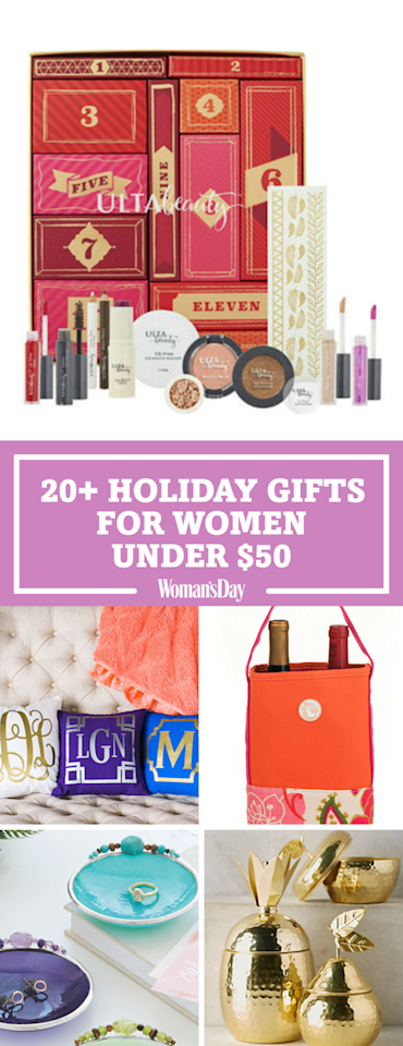 20 Great Holiday Gifts For Her Under 50