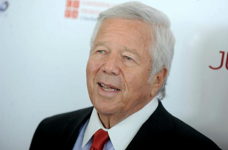Patriots owner Kraft won't accept plea deal in day spa case