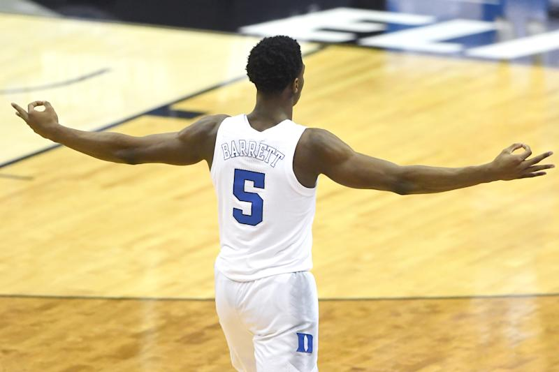 RJ Barrett will no longer entertain teams after Knicks visit