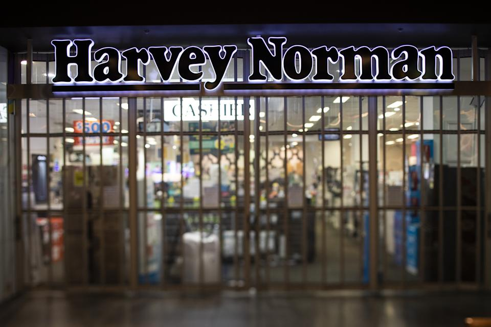 Harvey Norman has been the subject of scrutiny in recent months after it was revealed it would not return $14.5 million in JobKeeper funds. Source: Getty
