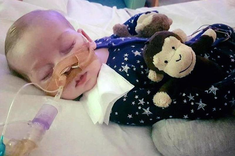 Charlie Gard has been given US citizenship, but is blocked from being taken from hospital: PA