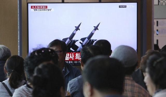 North Korea fires 'unidentified projectile', says South