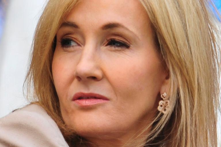 British author J K Rowling is seen at Wimbledon in London, on June 25, 2013
