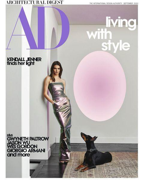 """<p>Kendall Jenner is probably one of the most private of the Kardashian/Jenner clan but this week she showed off her home in Architectural Digest. It's so homely we're not sure which room we love more.</p><p><a href=""""https://www.instagram.com/p/CDOtXk1j862/"""" rel=""""nofollow noopener"""" target=""""_blank"""" data-ylk=""""slk:See the original post on Instagram"""" class=""""link rapid-noclick-resp"""">See the original post on Instagram</a></p>"""