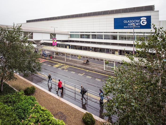 The men were arrested at Glasgow Airport: Getty iStock