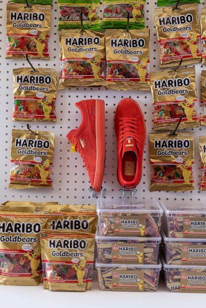 Puma and Haribo have teamed up for a sweet sneaker collaboration. (Puma)