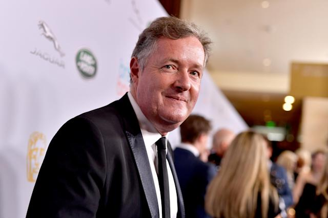 Piers Morgan attends the 2019 British Academy Britannia Awards in 2019 (Emma McIntyre/BAFTA LA/Getty Images for BAFTA LA)