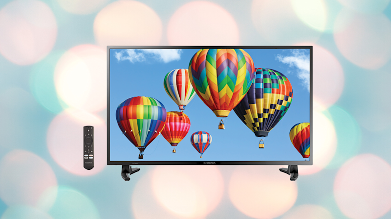 Save nearly 30 percent on this 32-inch TV. (Photo: Insignia)