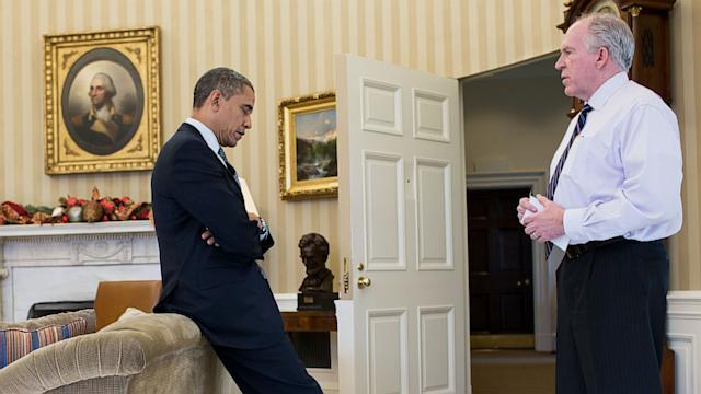 Photo Shows Obama Hearing of Sandy Hook Shooting