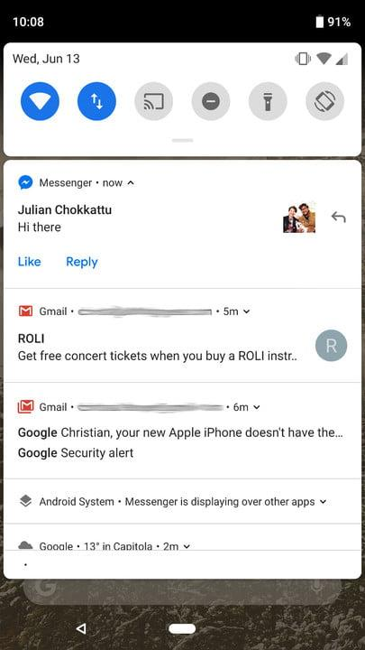 Android 9 0 Pie vs  iOS 12: How notifications have changed