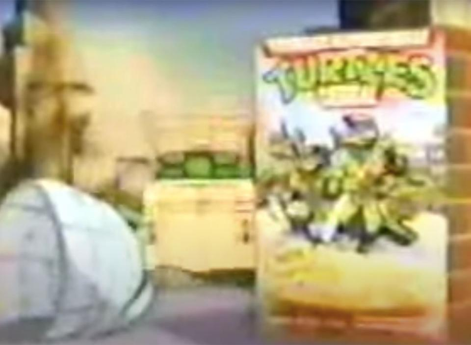 teenage mutant ninja turtles cereal commercial