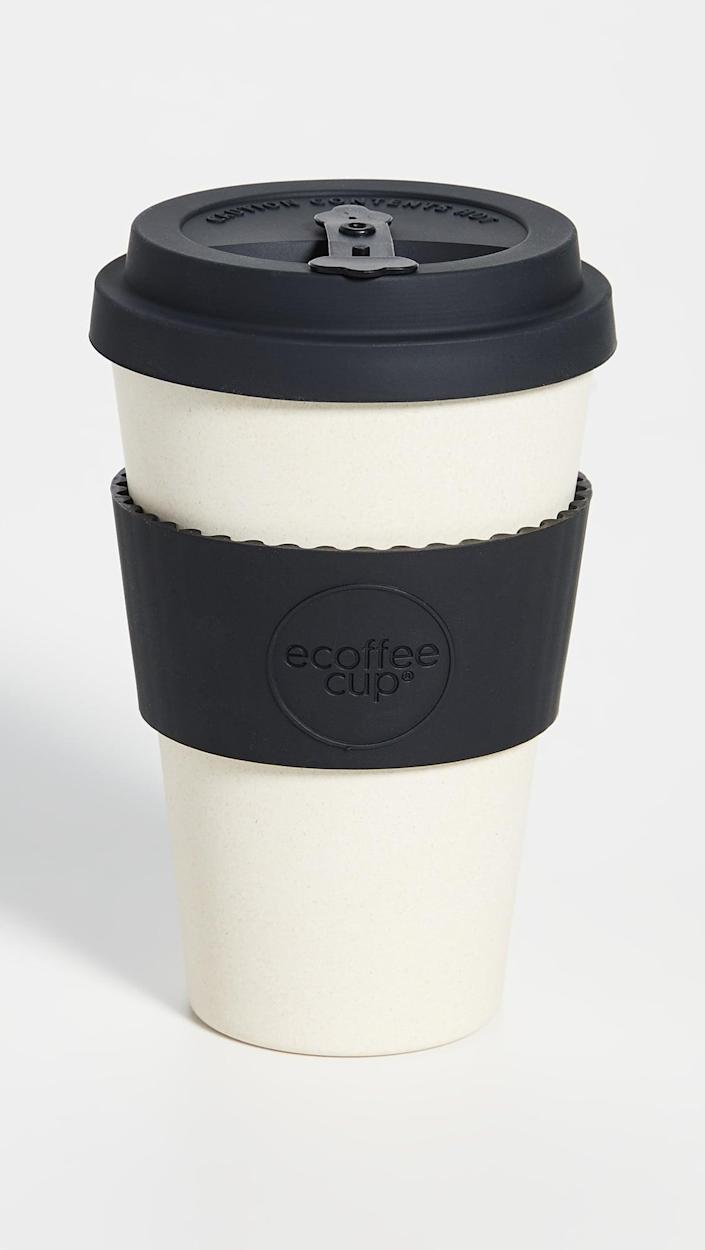 <p>This <span>14oz Reuseable Coffee Cup</span> ($14) is great for on-the-go.</p>