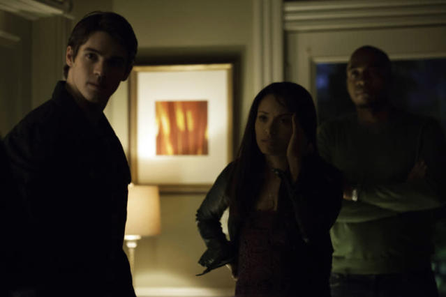 """A View to a Kill"" -- Steven R. McQueen as Jeremy, Kat Graham as Bonnie and Rick Worthy as Rudy"