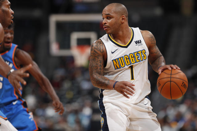 "<a class=""link rapid-noclick-resp"" href=""/nba/players/3837/"" data-ylk=""slk:Jameer Nelson"">Jameer Nelson</a> is in his 14th NBA season. (AP Photo)"