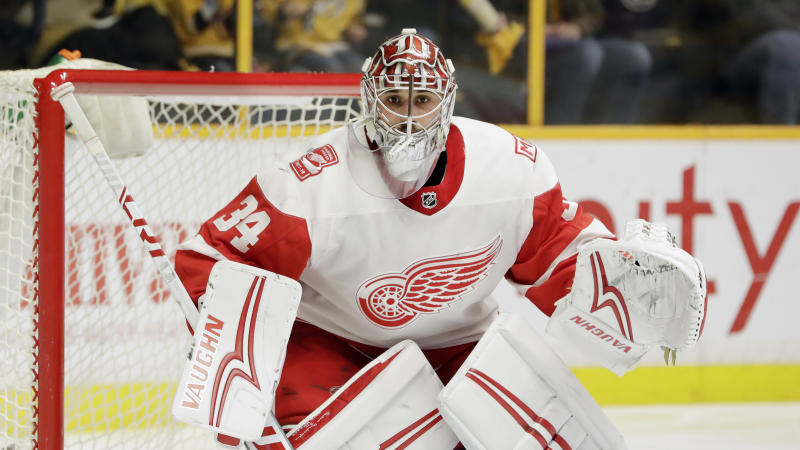 big sale 08066 a211c Flyers reportedly interested in Red Wings' Petr Mrazek
