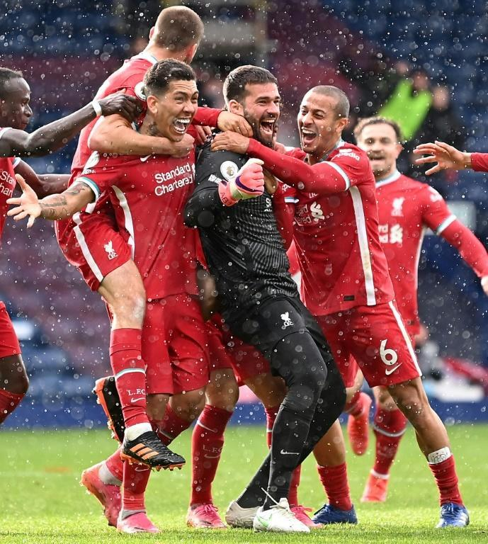 Liverpool goalkeeper Alisson Becker kept the Reds' top-four fate in their own hands