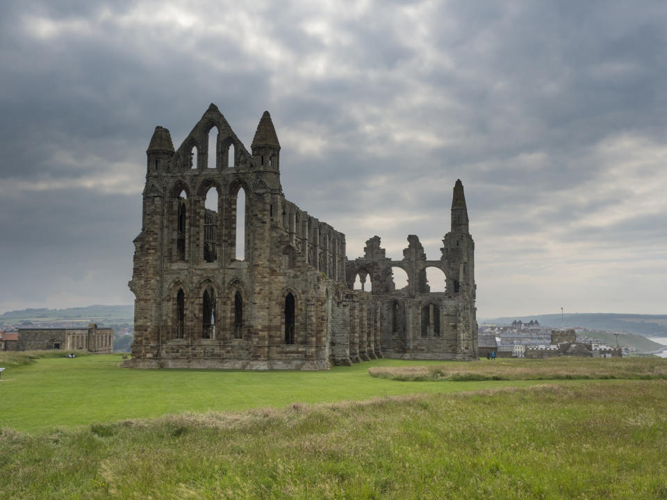 View of Whitby Abbey. (Photo by: Gary Smith/Loop Images/Universal Images Group via Getty Images)