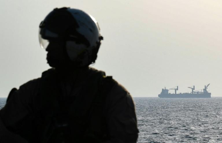 The US-led Operation Sentinel, which has been in the making since June, is intended to protect shipping in the Gulf after a series of mystery attacks Washington and its allies have blamed on Tehran (AFP Photo/KARIM SAHIB)