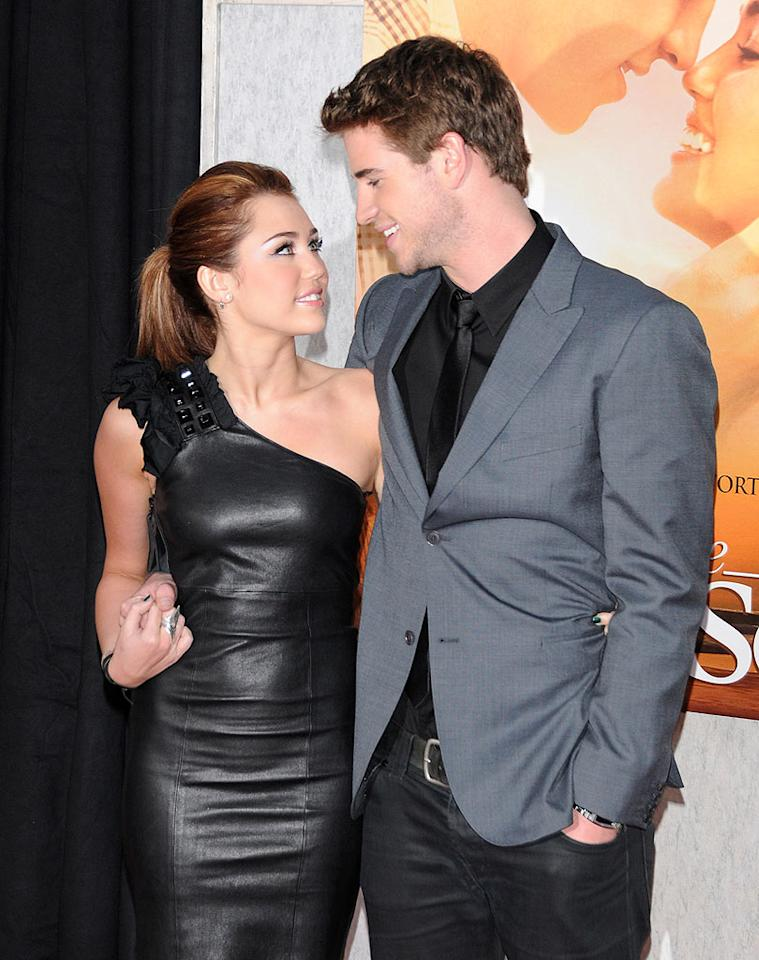 "Could ""The Last Song"" lead to Miley Cyrus' and Liam Hemsworth's first dance ... as a married couple? According to <i>OK!</i> magazine, Cyrus, who fell for Hemsworth on the set of their film, is now ""talking about a wedding as soon as she turns 18"" in November. Check out <a href=""http://www.gossipcop.com/miley-cyrus-getting-married-liam-hemsworth/"" target=""new"">Gossip Cop</a> to see how close Hemsworth is to becoming Mr. Hannah Montana. Karl Milan/<a href=""http://www.splashnewsonline.com"" target=""new"">Splash News</a> - March 25, 2010"