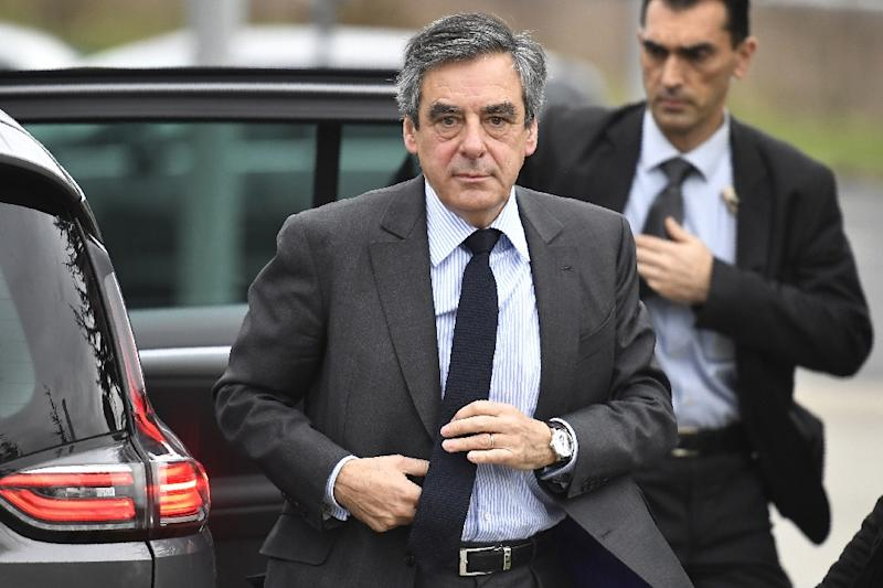 Conservative French presidential hopeful Francois Fillon is battling to stay in the election race