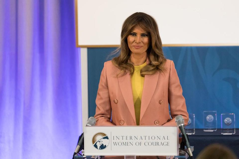 <em>Ratings – YouGov's ratings found Melania Trump is more popular among men than women (Picture: Getty)</em>