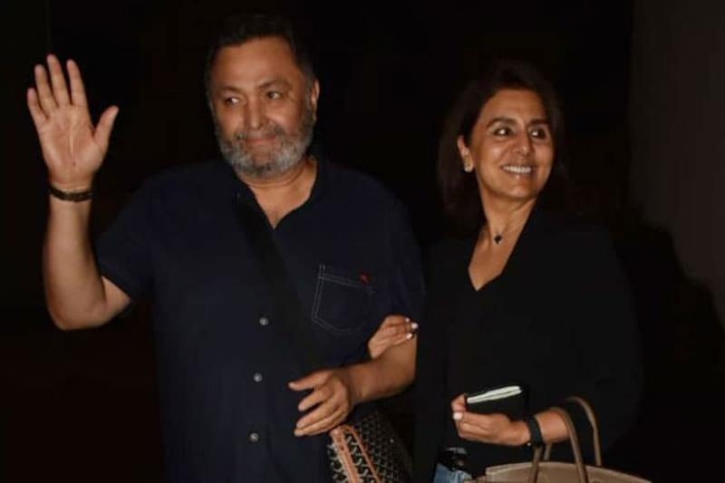 Rishi Kapoor Gets Surprise from Ranbir and Riddhima on Arrival, Wife Neetu Shares Pic