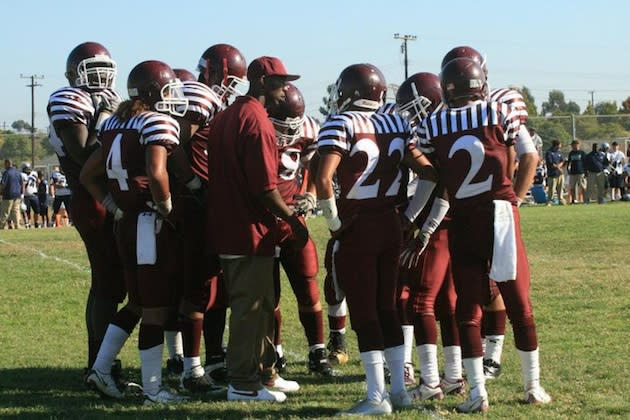 The Kearny football team, in its traditional uniforms — BeRecruited