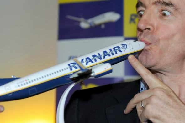 Ryanair's O'Leary says he deserves the Nobel peace prize