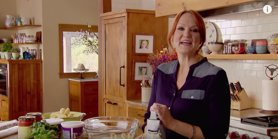 """<p>After Paula Deen left the network, <a href=""""https://www.delish.com/restaurants/g4129/pioneer-woman-mercantile-products/"""" rel=""""nofollow noopener"""" target=""""_blank"""" data-ylk=""""slk:Ree Drummond"""" class=""""link rapid-noclick-resp"""">Ree Drummond</a> — AKA the Pioneer Woman — led the charge of down-home comfort food. Her recipes are the ultimate guilty pleasures (think: pot pies, casseroles, and chicken-fried steak), and regularly call for multiple sticks of butter, but someone's gotta do it, right?</p>"""