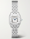 """<p><strong>CARTIER</strong></p><p>net-a-porter.com</p><p><strong>$3350.00</strong></p><p><a href=""""https://go.redirectingat.com?id=74968X1596630&url=https%3A%2F%2Fwww.net-a-porter.com%2Fen-us%2Fshop%2Fproduct%2Fcartier%2Fjewelry-and-watches%2Fwatches%2Fpanthere-de-cartier-21mm-small-stainless-steel-watch%2F22527730565745447&sref=https%3A%2F%2Fwww.townandcountrymag.com%2Fleisure%2Fg26946158%2Fbest-nanny-gifts%2F"""" rel=""""nofollow noopener"""" target=""""_blank"""" data-ylk=""""slk:Shop Now"""" class=""""link rapid-noclick-resp"""">Shop Now</a></p><p>For a full-time nanny or someone who has worked with you for years, consider a classic Cartier watch that elevates every outfit.</p>"""