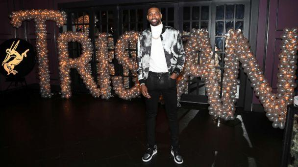PHOTO: Tristan Thompson poses for a photo as Remy Martin celebrates his Birthday at Beauty & Essex on March 10, 2018 in Los Angeles. (Jerritt Clark/Getty Images)