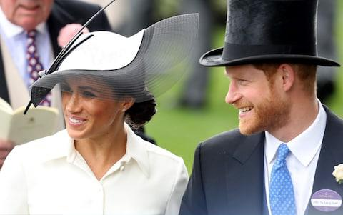 duchess of sussex ascot  - Credit: Getty