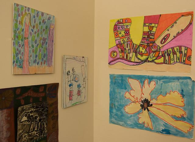 What To Do With Kids Artwork Because Your Fridge Is Full
