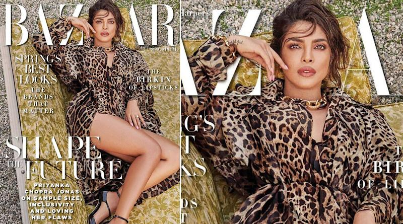 Priyanka Chopra's New Magazine Cover for Harper's Bazaar Singapore is Your Guide to Flaunting your Sexy Legs