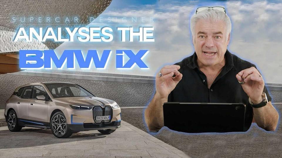 Original BMW X5 Designer Reviews The iX And Its Quirky Grille