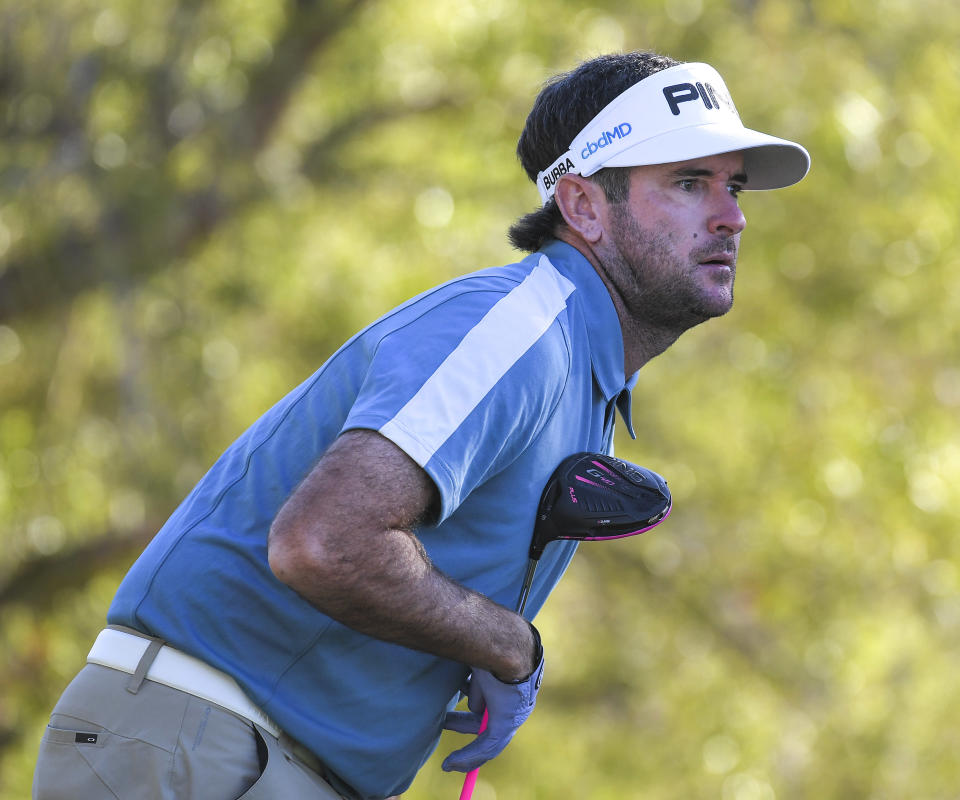 Bubba Watson took a shot on Sunday that only he would dare to attempt.  (Stan Badz/Getty/file)