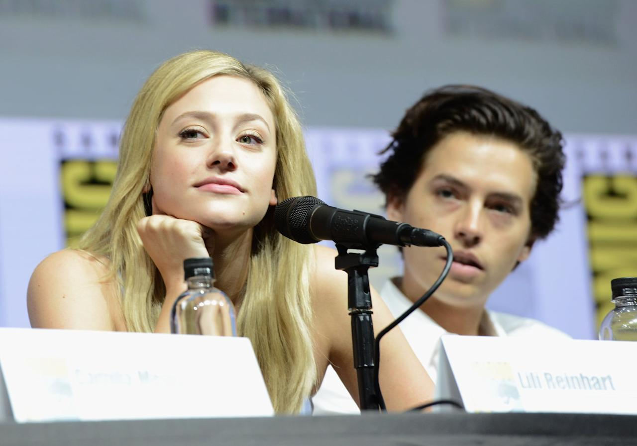 When They Sat Next to Each Other During a Comic-Con Panel