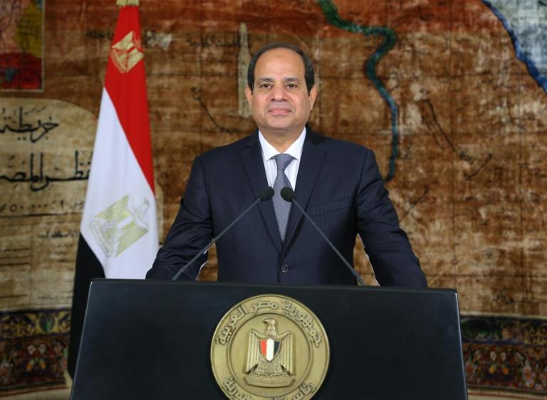 Egyptian President Abdel Fattah al-Sisi Sisi is seen as having good ties with both Israel and Abbas's Palestinian Authority